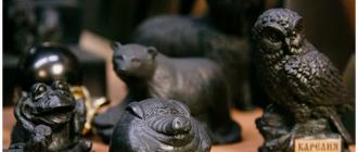 статуэтки из шунгита